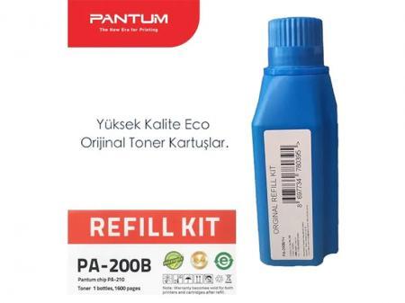 PA-200B V1 Orijinal Toner Dolum Kiti + Çip ( Refill Kit )